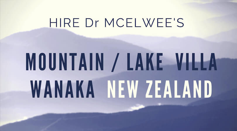 Hire Dr McElwees Mountain Villa / Wanaka